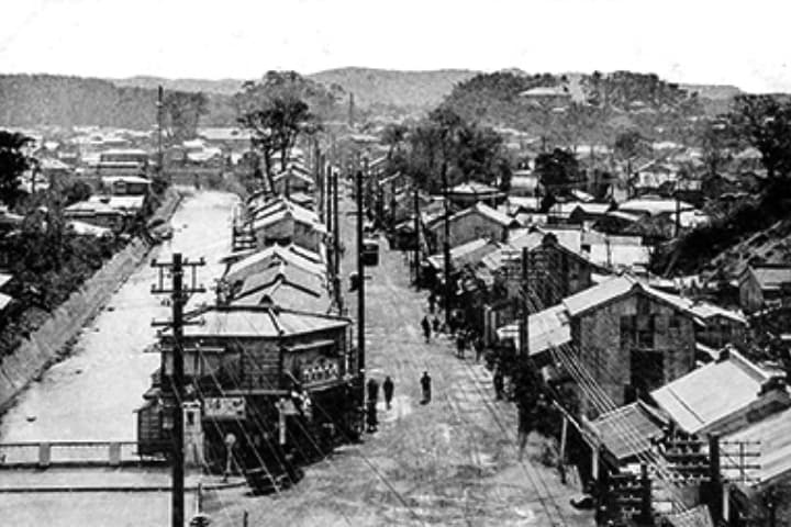 戦前の藤沢橋